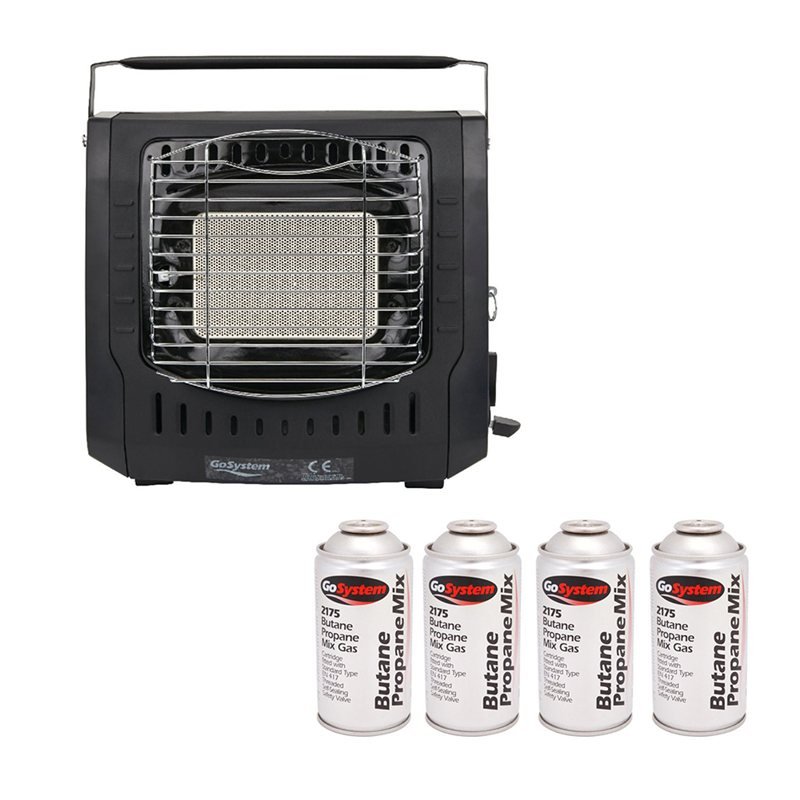 Go System Dynasty Heater & Gas Package Deal