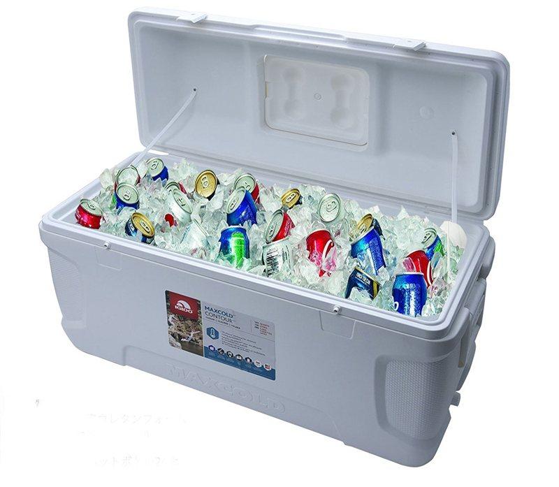 Igloo Contour 28 Litre Drinks Cooler Blue Cool Box Fishing Camping Caravan