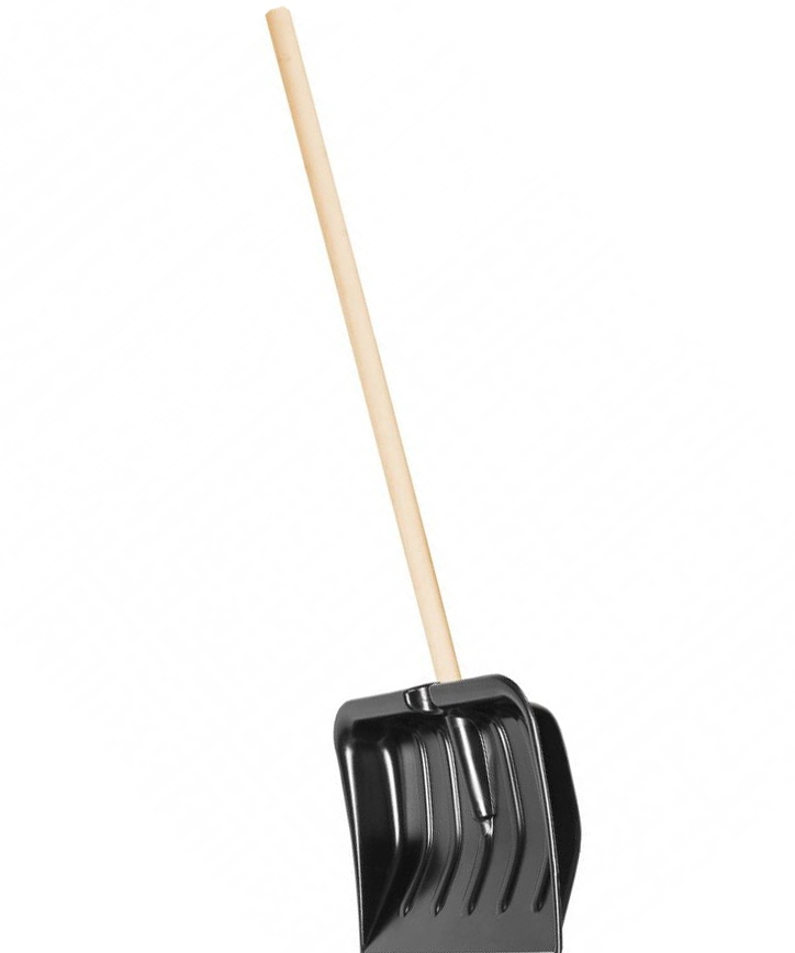 Camping World Wooden Handle Snow Shovel 1