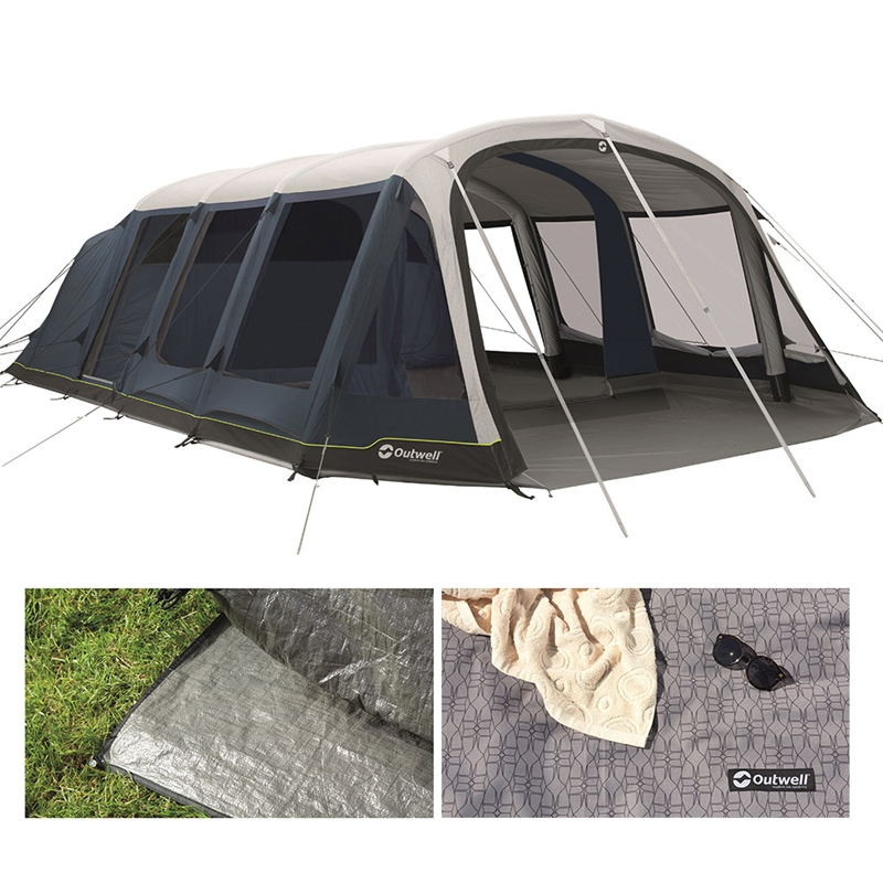 Outwell Wood Lake 7ATC Air Tent Package Deal 2021 1