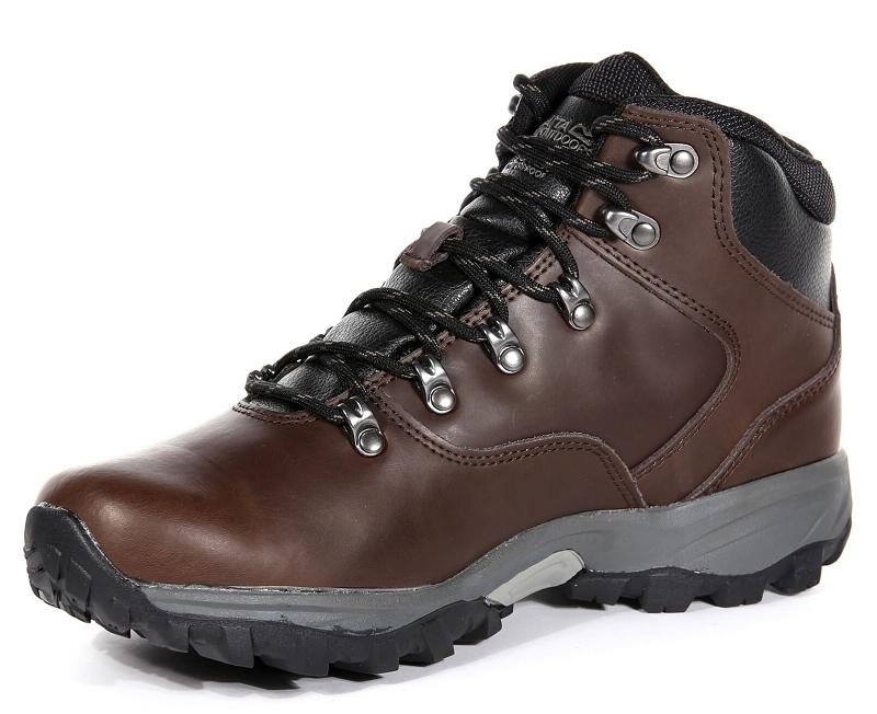 Regatta Bainsford Mens Hiking Boots Peat 2021 1