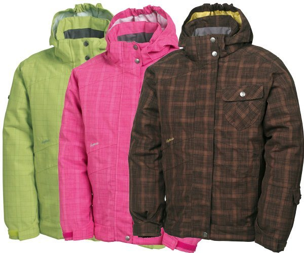 2bfd32883 Surfanic PIGTAILS FINESSE Girls Snow Board Jacket 2010 ...
