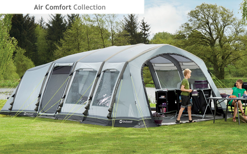 Vermont 7SA Tent. Air Comfort Collection & Outwell 2016 Tent Collections u0026 Camping Equipment