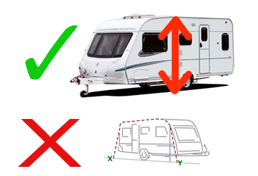 Caravan Awning Measurements  sc 1 st  C&ing World : canopies for caravans - memphite.com